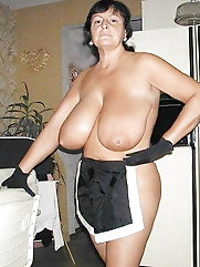 Amazing huge titted grannies