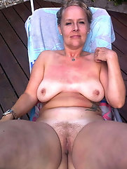 European mature sluts are covered with cum
