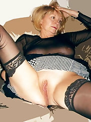 Hottest mature granny looks exposed