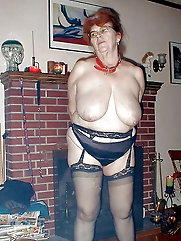 Classy mature gilf is fingering herself
