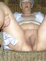 Grannies and matures pussies for you