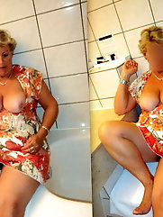 Just some random hot granny wife found on the net
