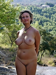 Big breasted mature strumpet is having sex with her boyfriend